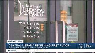 Tulsa Central Library Reopening First Floor