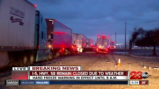 I-5 Closure Update: Freeway to be closed for the next three to four hours, at least