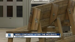 Local shelters using overflow spaces during shelter season