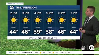 Metro Detroit Forecast: Sunny and chilly start to the first weekend of spring
