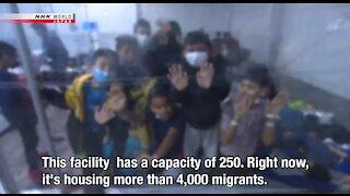 Shocking New Footage Shows Children Crammed Inside Biden's Border Jails