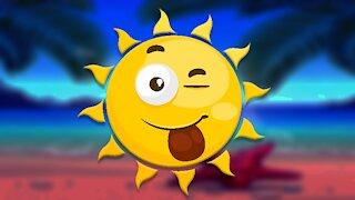 Sunshine Finger Family Song
