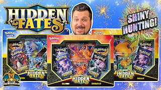 Hidden Fates Collection Box Set #2 | Shiny Hunting | Pokemon Cards Opening