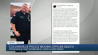 Collinsville police mourn officer death