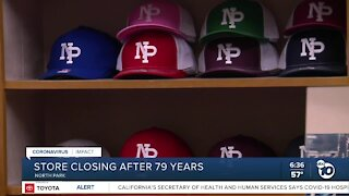 North Park store closing after 79 years