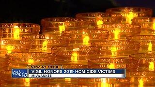 Vigil honors 2019 homicide victims