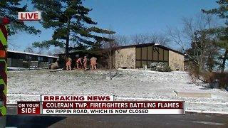 Fire at Colerain Township apartment complex