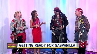 Ye Mystic Krewe pirates ready to invade