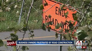 Business owners frustrated by construction