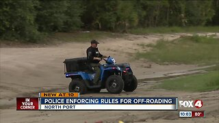 North Port Police enforce rules for off-roading