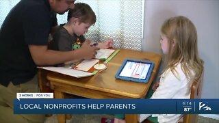 Local nonprofits help parents