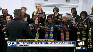 MLK Community Choir San Diego funds scholarships