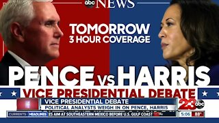 Political analysts preview vice presidential debate