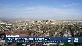Real estate taking over farmlands