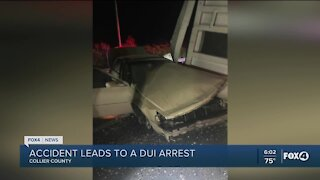 Drunk driver causes crash, closes northbound I-75