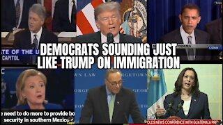 Democrats Sounding Just Like Trump on Immigration