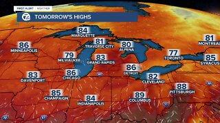 Dangerous heat possible in Metro Detroit this weekend