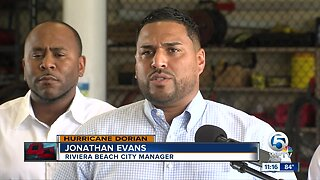 Riviera Beach collecting relief items for Bahamas