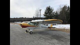New VFR Avionics Installed in Super Cub