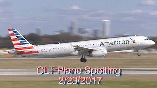 CLT Plane Spotting