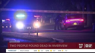Double homicide investigation underway after bodies are found outside Riverview business
