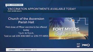 Covid vaccine locations in Southwest Florida