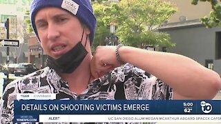 Gaslamp Quarter shooting survivor's son shares details of deadly confrontation