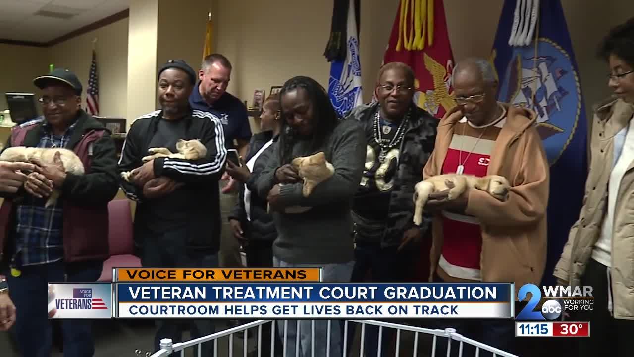 Courtroom helps get veterans lives back on track