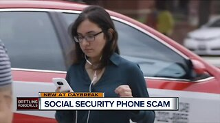 Social Security Phone Scam warning.