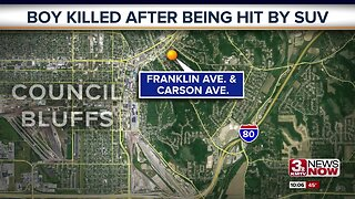 Boy killed after being hit by SUV