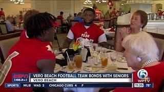Vero Beach football team bonds with seniors