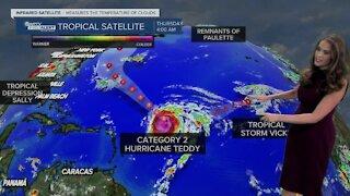 Tropical Update: Thursday 5 a.m.