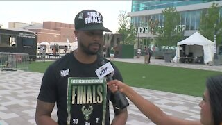 Bucks fans excited for Game 1