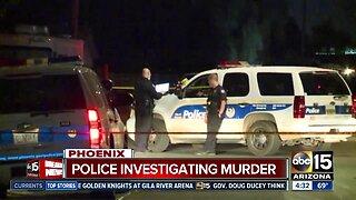 Homicide investigation underway in Phoenix