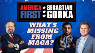 What's missing from MAGA? Raheem Kassam and J.D. Vance with Sebastian Gorka on AMERICA First