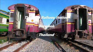 Thonburi Railway Station in Bangkok, Thailand