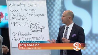 Platinum Wellness says if you're gaining weight, your body may be out of balance
