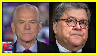 ABOUT TIME! Peter Navarro Just Dropped the HAMMER on Bill Barr