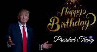 Birthday Wishes to President Trump