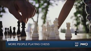 More people playing chess