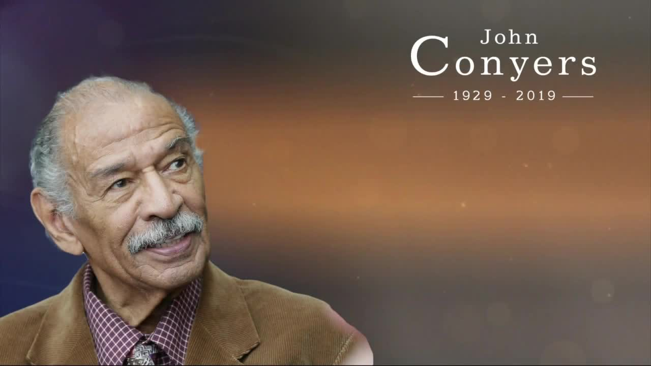 John Conyers remembered as trailblazer during funeral service