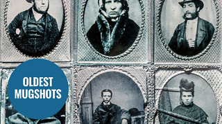World's oldest police mugshots have been revealed