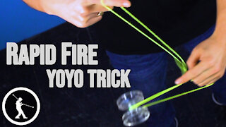 Rapid Fire Yoyo Trick - Learn How