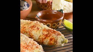 MEXICAN STREET STYLE CORN COBS
