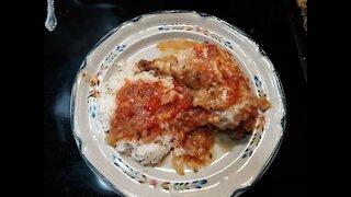 Homemade Delicious Chicken Cacciatore