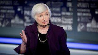 Treasury Sec. Yellen Says Spending Won't Impact Inflation