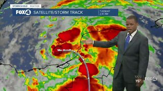 Tropical Storm Cristobal Update 10 PM 6/2/20