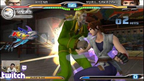 (PS2) KOF Maximum Impact 2 - 28-1 - Hyena ... Why is Yuri a GOD! (FAILED! laptop blue screened :) )