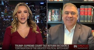 In Focus: Citizens United President, David Bossie, on President Trump's Tax Returns