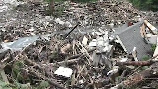 Poudre Canyon mudslide destroys a cabin that's been in a family more than 30 years
